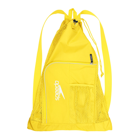 Speedo - Deluxe Vent Mesh Bag Yellow - Sharks Swim Shop