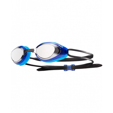 TYR - blackhawk racing mirrored goggles silver/blue