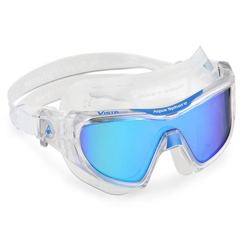 Aqua Sphere - Vista Pro Blue Mirror - Sharks Swim Shop