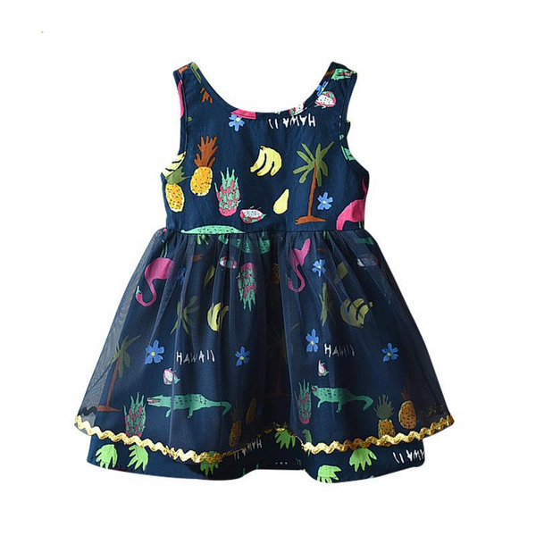 Faye Tropical Dress