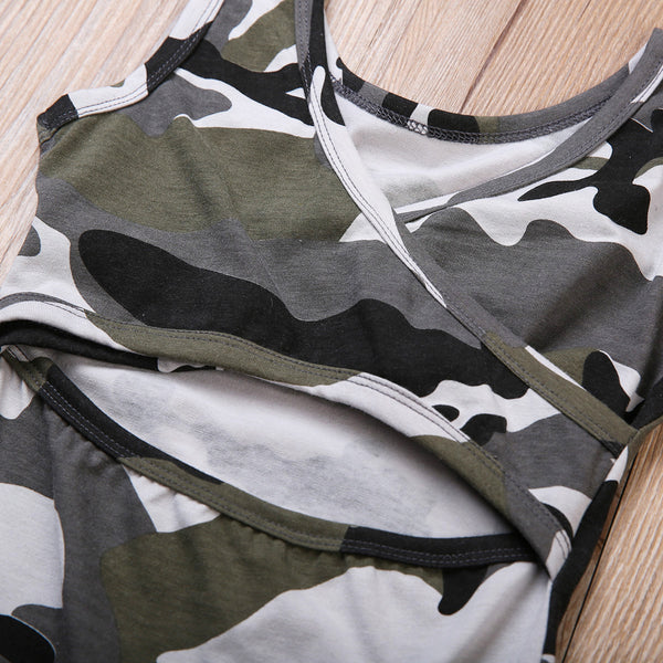 Coco Camo Dress - Bliss & Bustle