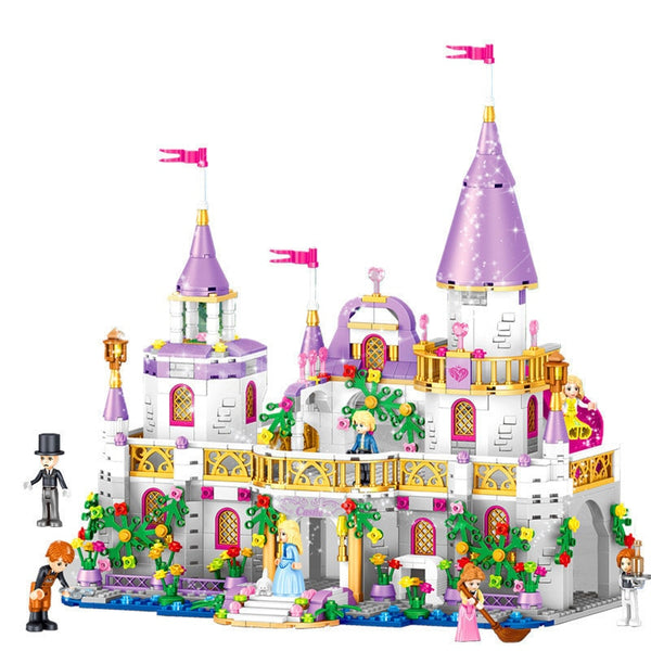 Royal Castle Building Blocks - Bliss & Bustle