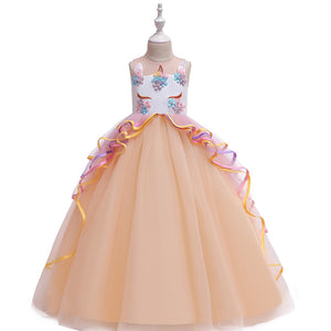 Unicorn Princess Ribbon Gown - Bliss & Bustle