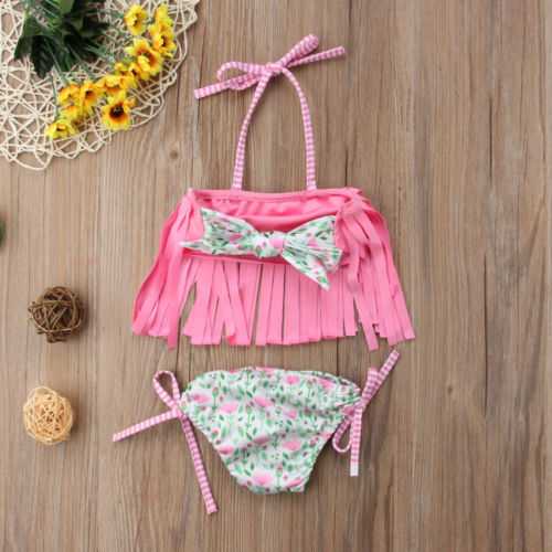 Tanya Fringe Swimsuit - Bliss & Bustle