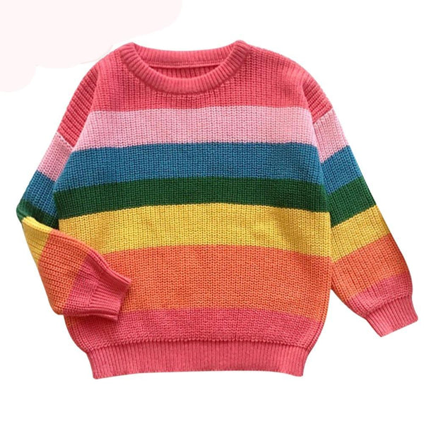 Rainbow Sweater - Bliss & Bustle