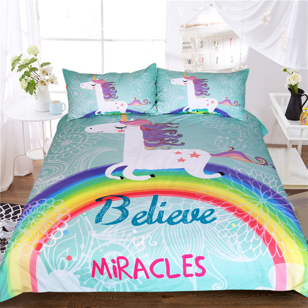 Believe in Miracles Bedding Set - Bliss & Bustle