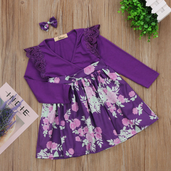 Matching Family Outfit - Purple