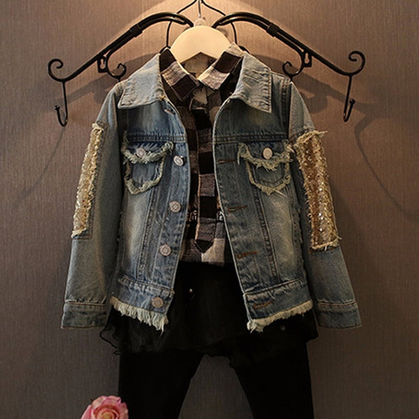 Erica Denim Jacket - Bliss & Bustle