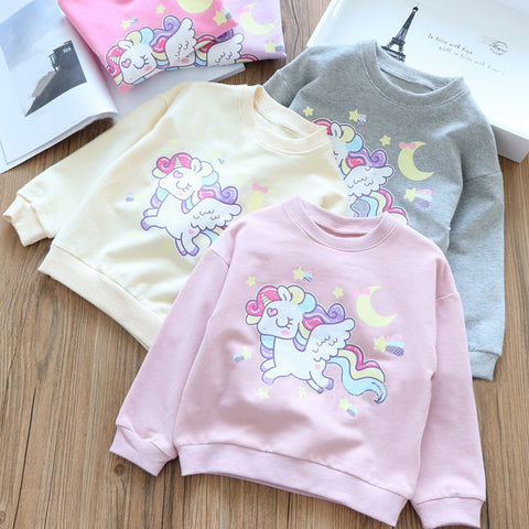 Colorful Unicorn Sweater