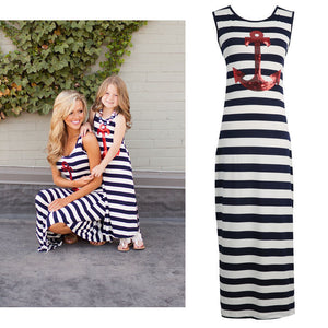 Mother Daughter Anchor Dresses - Bliss & Bustle