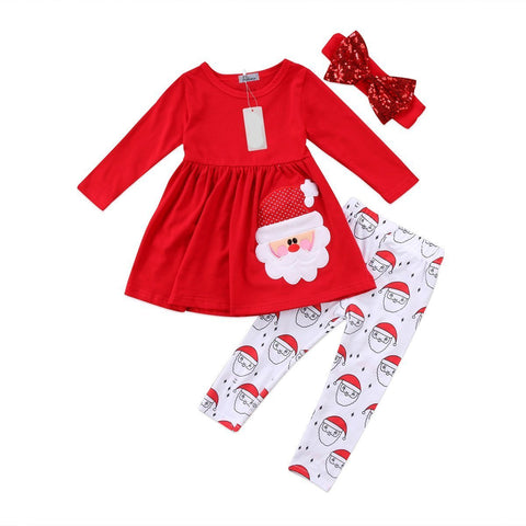 Red Santa Outfit - Bliss & Bustle