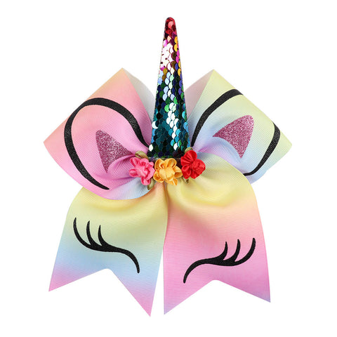 Magic Unicorn Hair Bows - 30 Colors