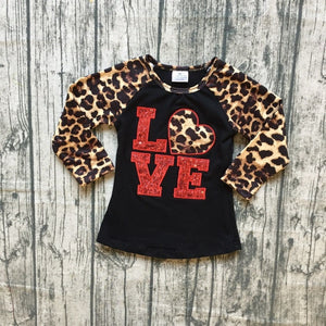 Love Leopard Top - Bliss & Bustle