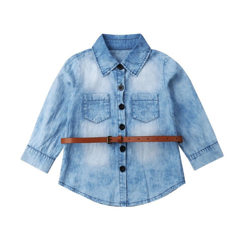 Arielle Denim Tunic