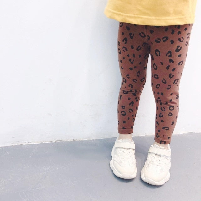 Spicy Leopard Leggings - Bliss & Bustle