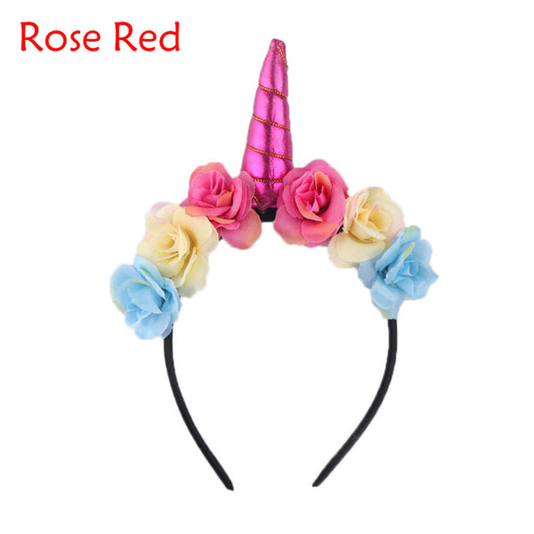 Unicorn Rose Crown