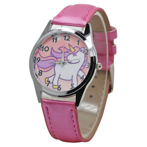 Colorful Unicorn Analog Watch