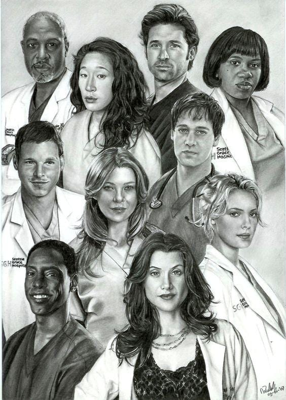 Greys Anatomy Inspired