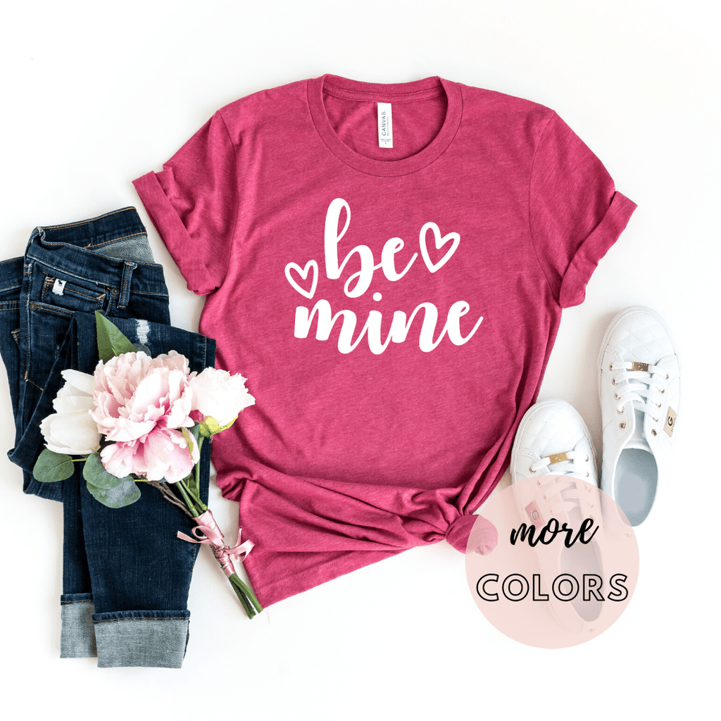 Be Mine Shirt, Valentines Day Gift Shirt, Valentines Gifts for him her girlfriend, Valentines Day - Funkyappareltees