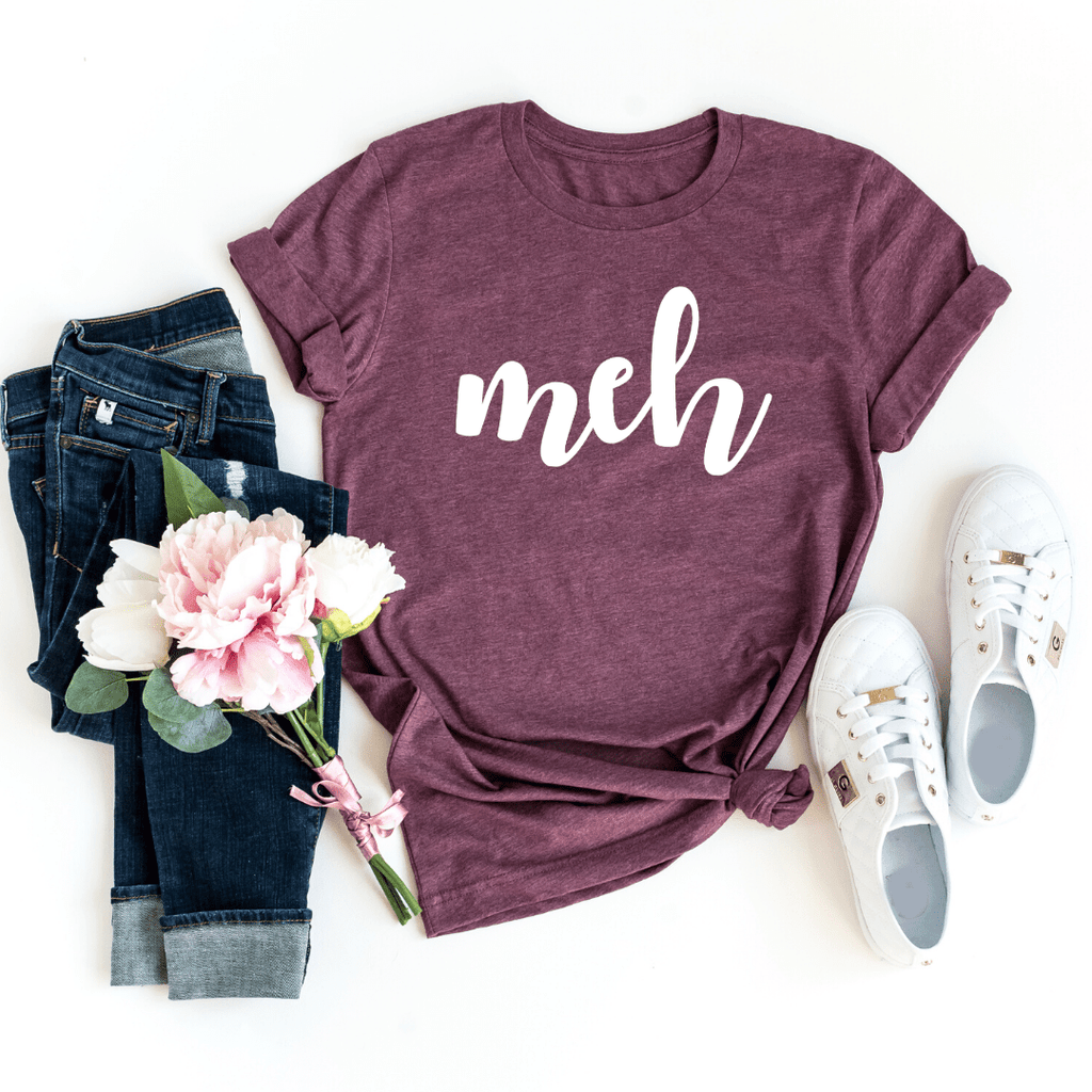 Meh T Shirt, Valentines Day Gift Shirt, Valentines Gifts for him her girlfriend, Valentines Day - Funkyappareltees