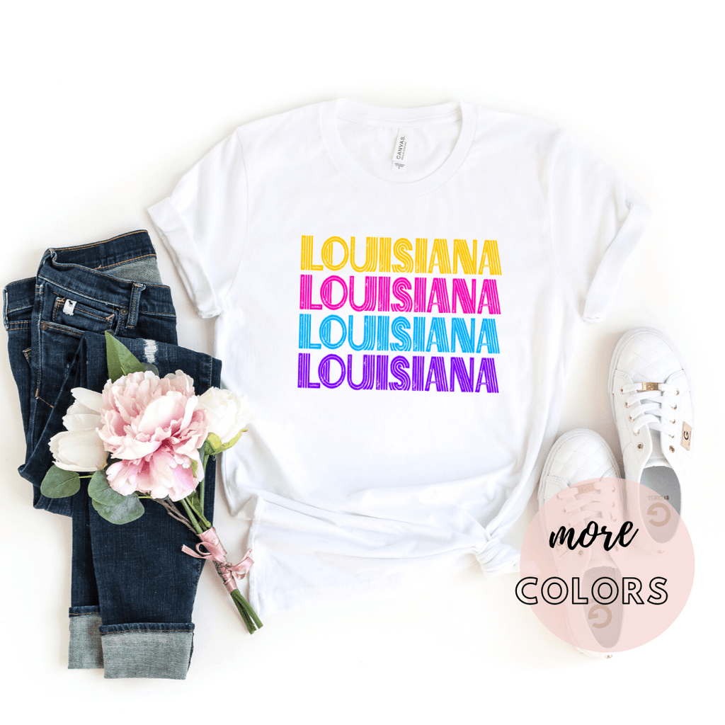 Louisiana State Shirt, New Orleans Shirt, Home State Shirt - Funkyappareltees