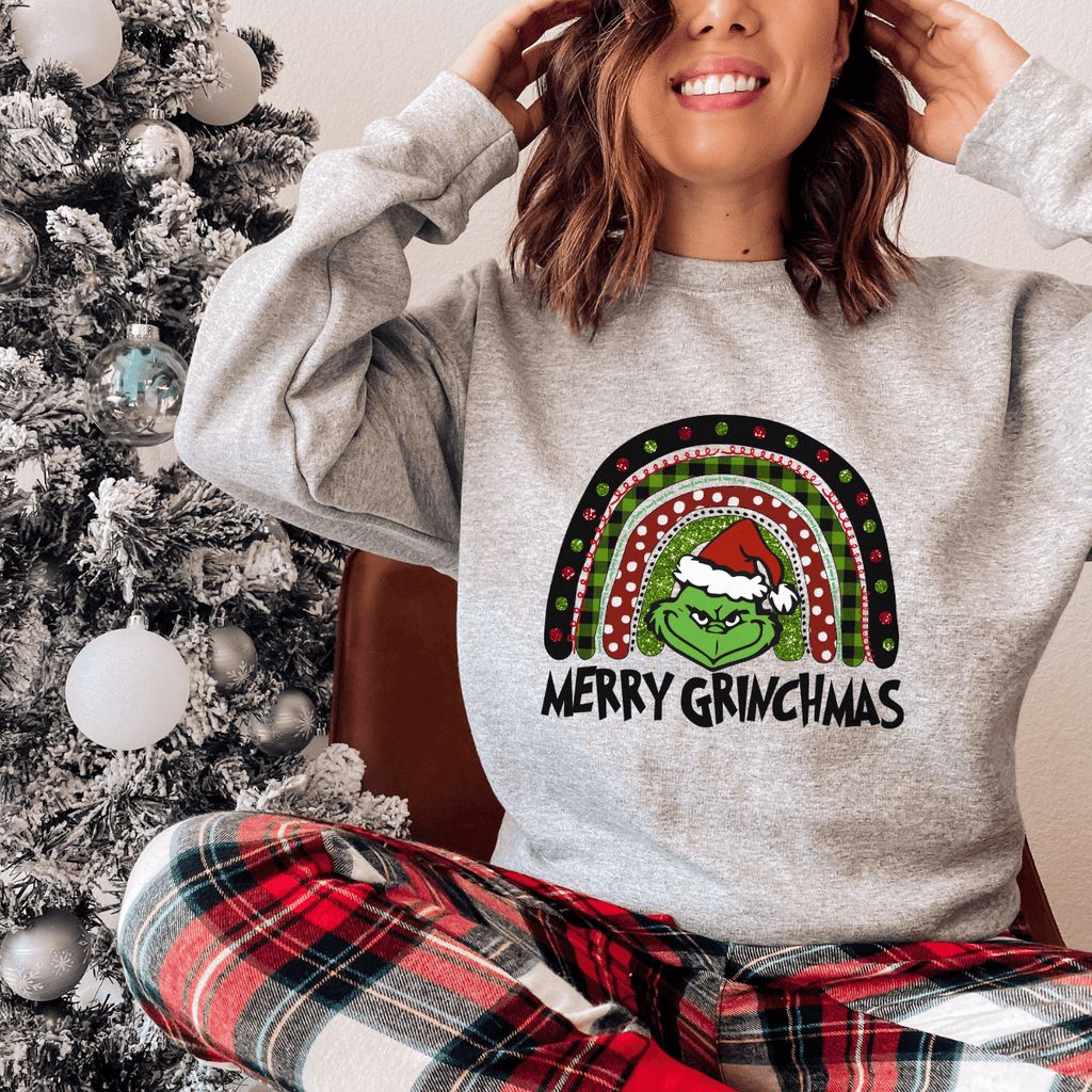 Merry Grinchmas Christmas Grinch Sweater