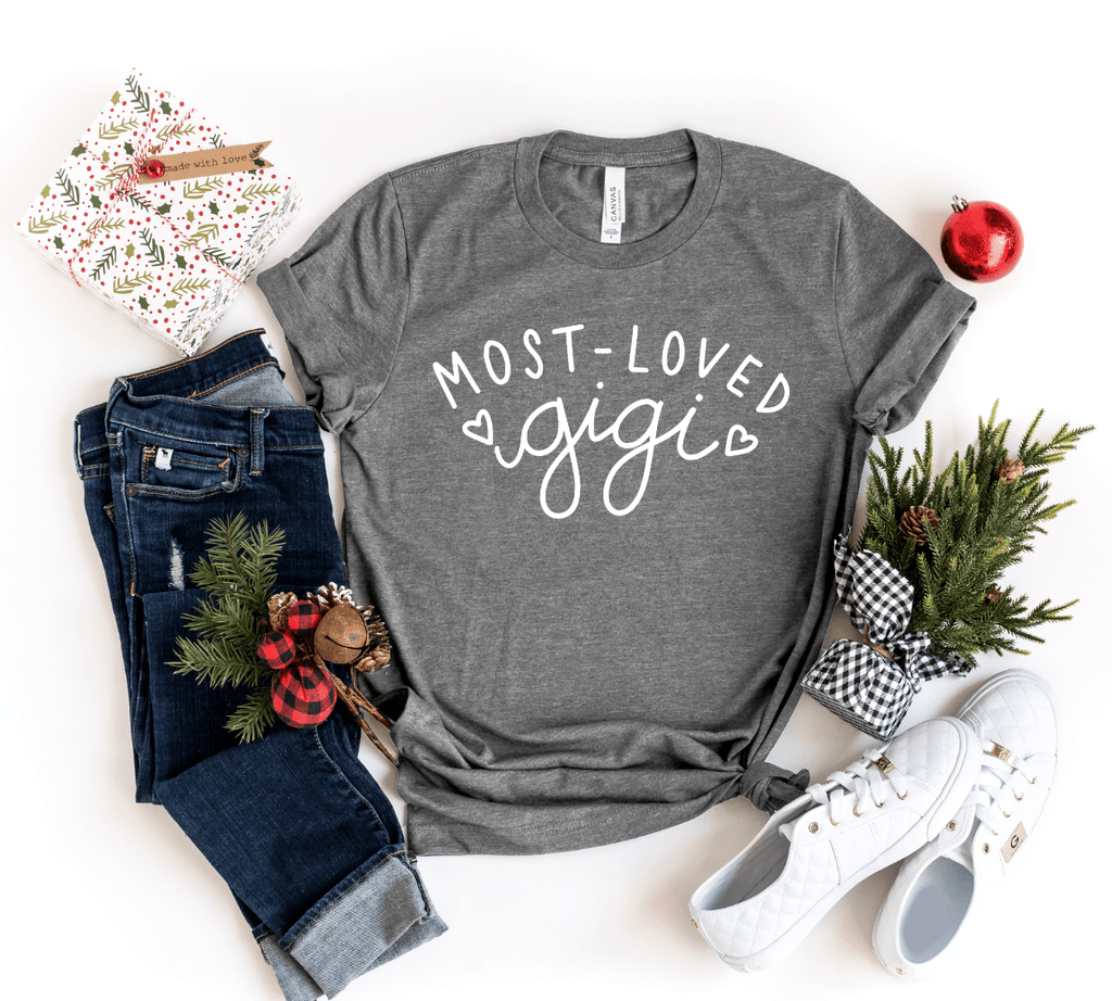Gigi Shirts, Christmas Gift For Gigi Grandma Shirts, Gigi T Shirts,  Grandma gifts, Grandmother Shirt Gift - Funkyappareltees