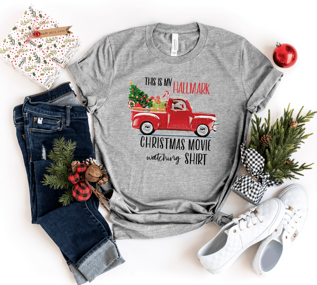 This Is My Hallmark Christmas Movie Shirt, Hallmark Christmas Shirt - Funkyappareltees