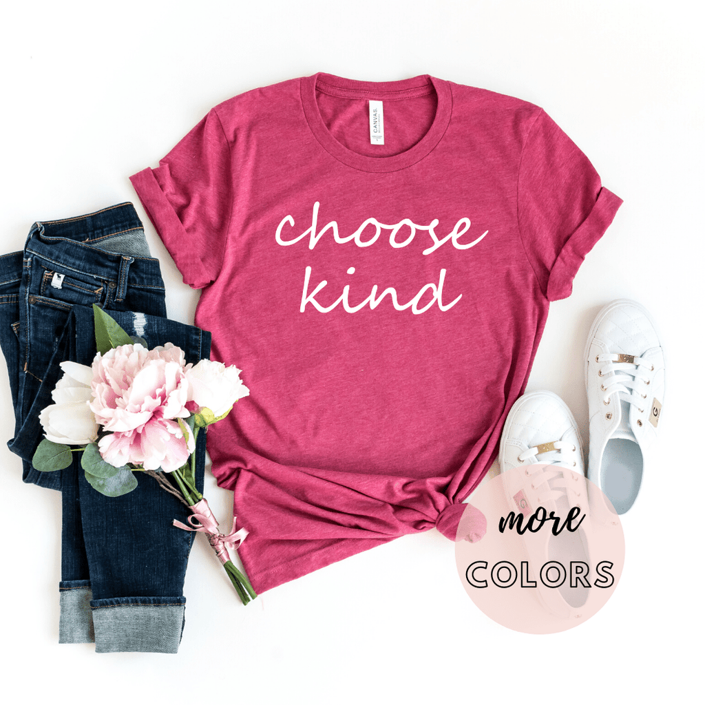Choose Kind Shirts, Be Kind Shirts, Choose Kindness Shirts, Kindness Shirts - Funkyappareltees
