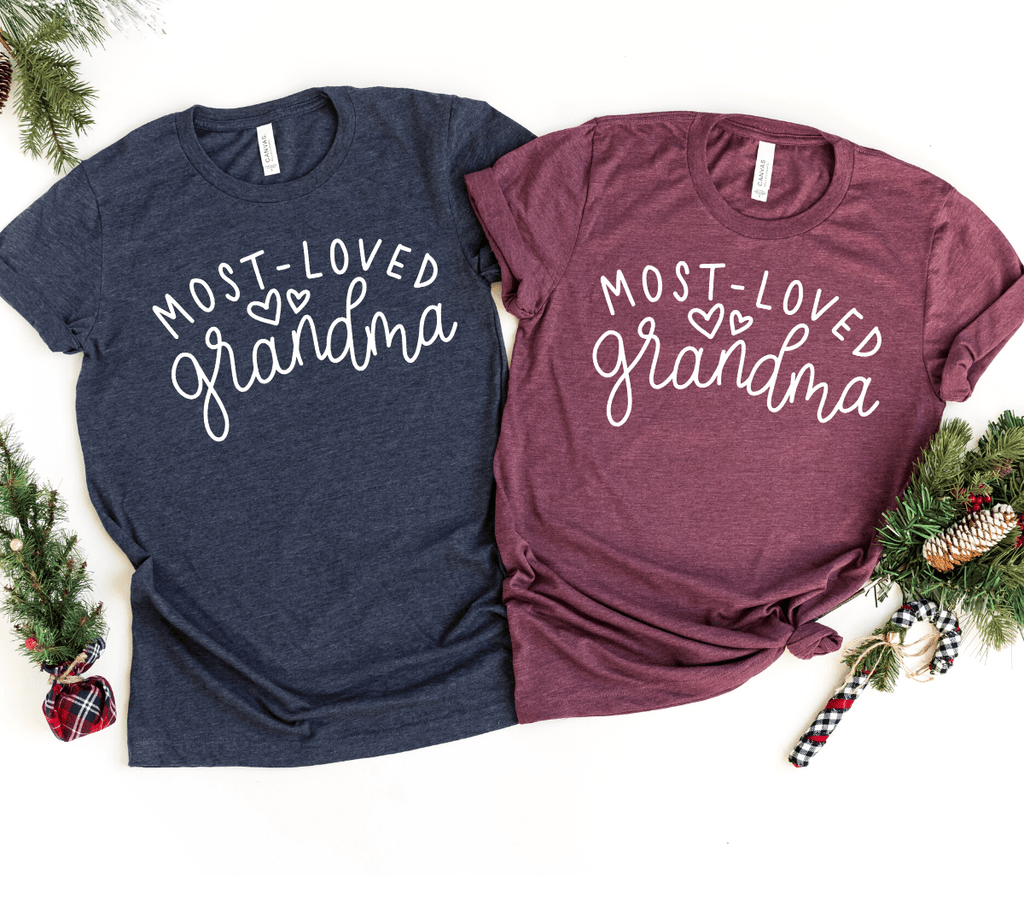 Grandma Grandmother Shirts, Christmas Gift For Grandma Shirts, Grandma T Shirts,  Grandma gifts, Grandmother Shirt Gift - Funkyappareltees