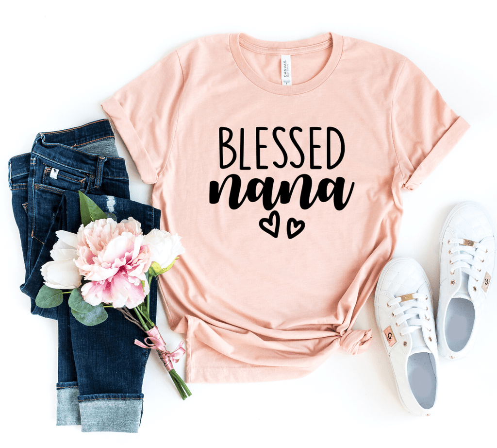 Blessed Nana Shirts, Christmas Gift For Nana Grandma Shirts, Nana T Shirts,  Grandma gifts, Grandmother Shirt Gift