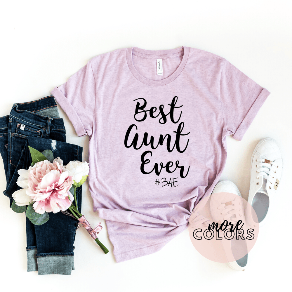 Aunt Shirt, Auntie Shirt, Best Aunt Ever Shirt, Aunt To Be Shirt, Best Auntie Ever Shirt - Funkyappareltees