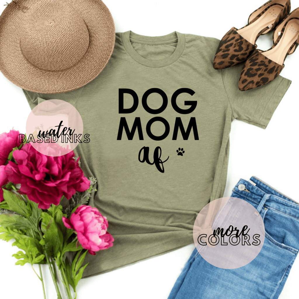 Dog Mom Af Shirt, Dog Shirts For Women, Dog Lover Gift - Funkyappareltees