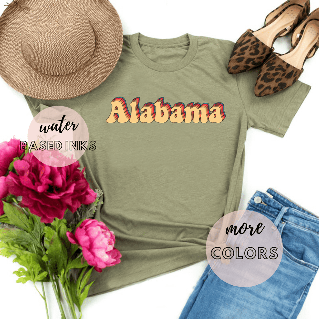 Alabama State Shirt, Sweet Home Alabama Shirt Womens Retro, Roll Tide Shirt - Funkyappareltees