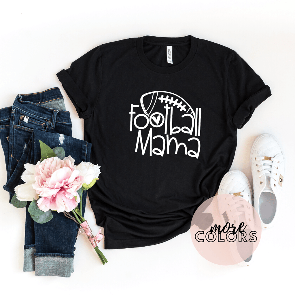 Football Mama Mom Shirts,Game Day Shirt, Family Football Wife, Football Season - Funkyappareltees