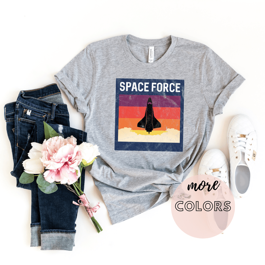Space Force T Shirt, Nasa Shirt, Us Space Force, Astronaut shirt - Funkyappareltees