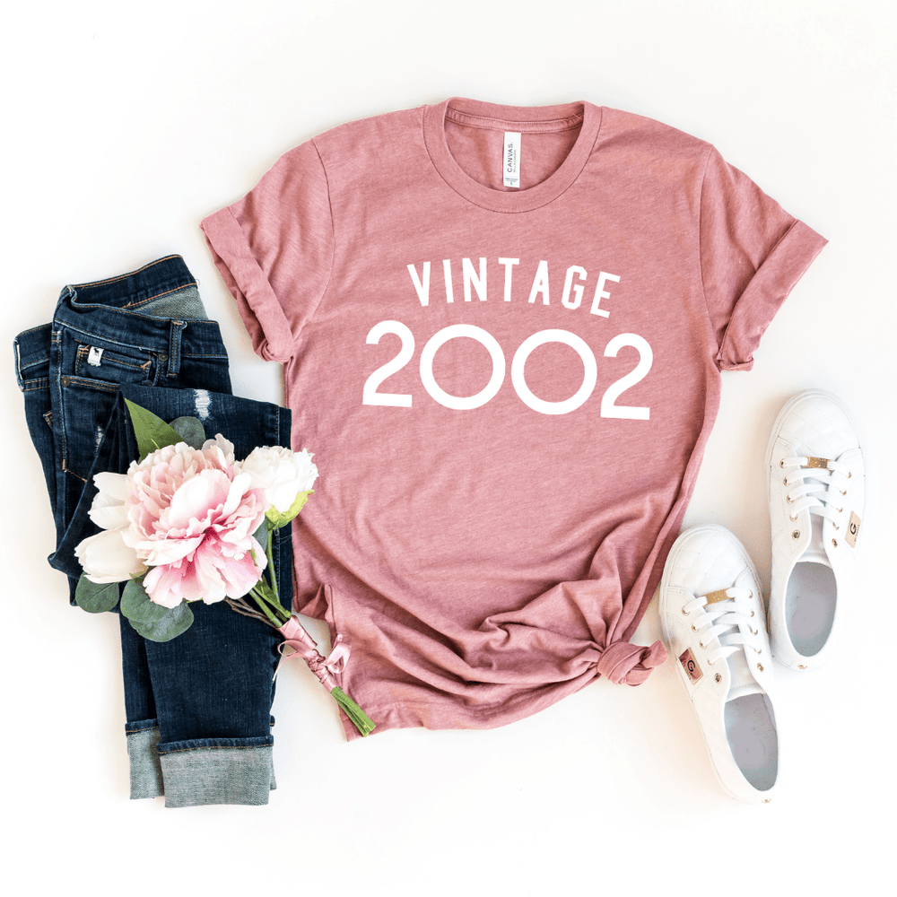 Gifts for 18th birthday, 18th Birthday present ideas sentimental gifts, Vintage 2002 Shirt, 18th Birthday Shirt, Eighteen Af Shirt - Funkyappareltees