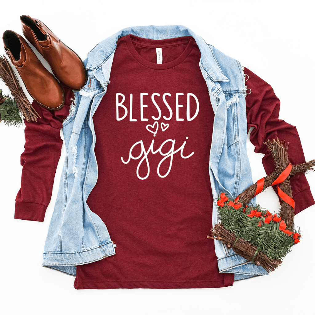 Blessed Gigi Christmas Gift Long Sleeve