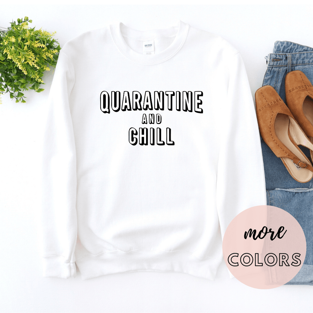 Social Distancing Expert Shirt Sweater, Quarantine shirt, Wash your Hands, Quarantine and Chill - Funkyappareltees