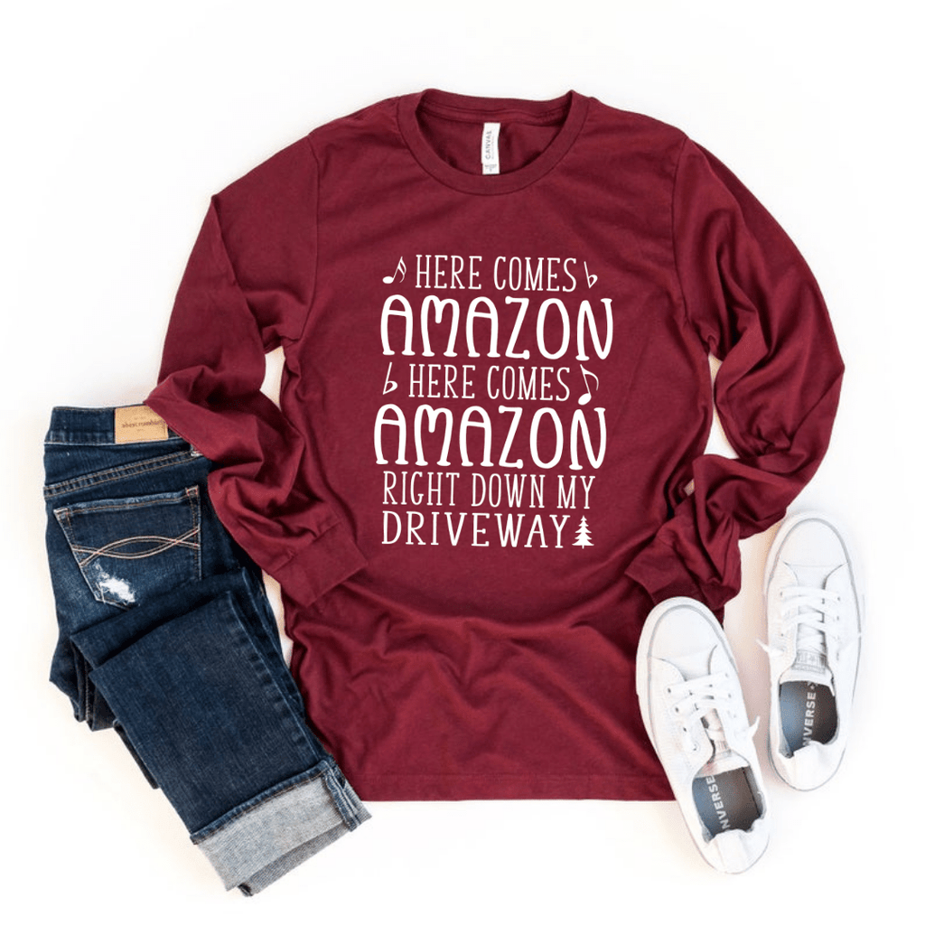 Here Comes Amazon Long Sleeve Shirt