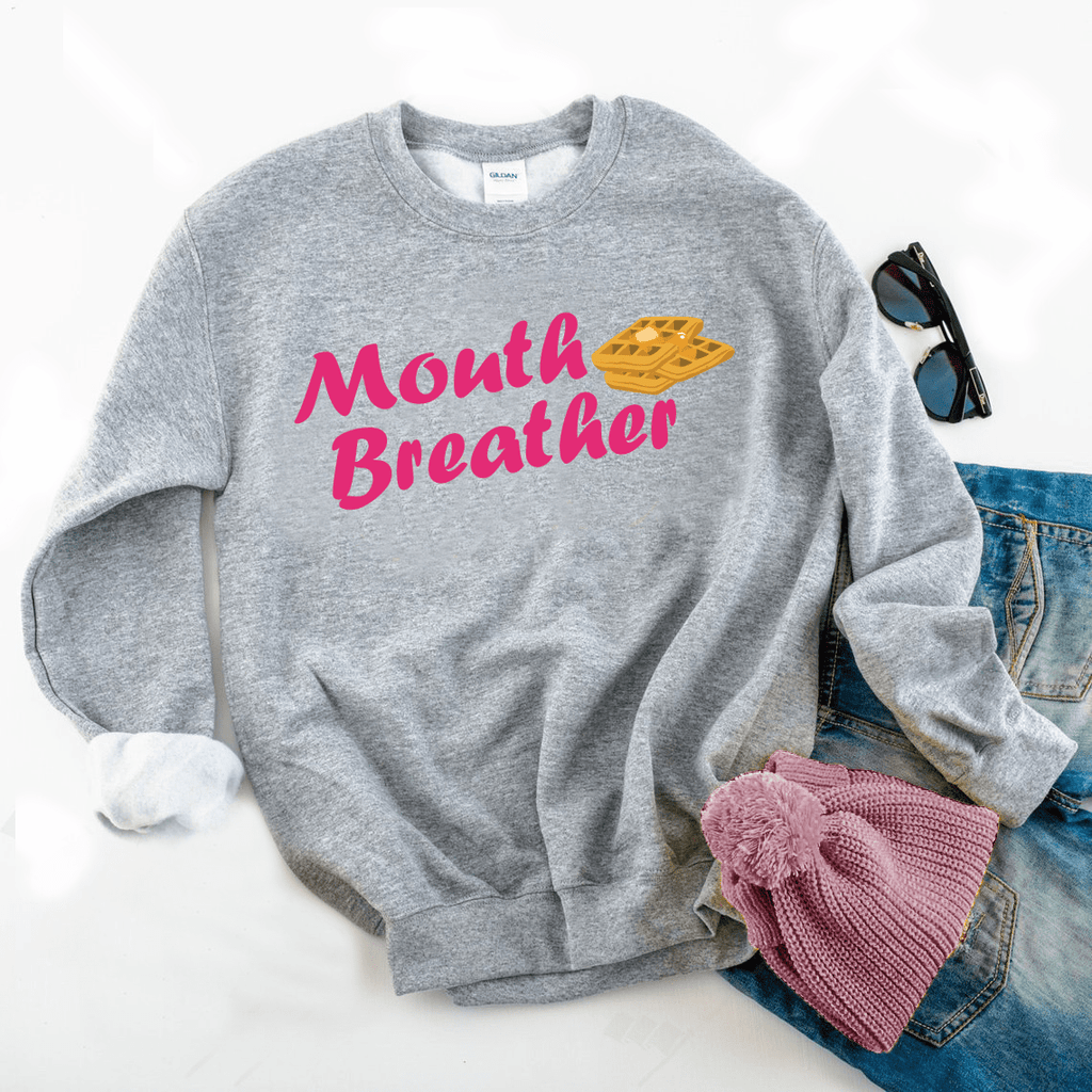 Mouth Breather Sweatshirt - Funkyappareltees
