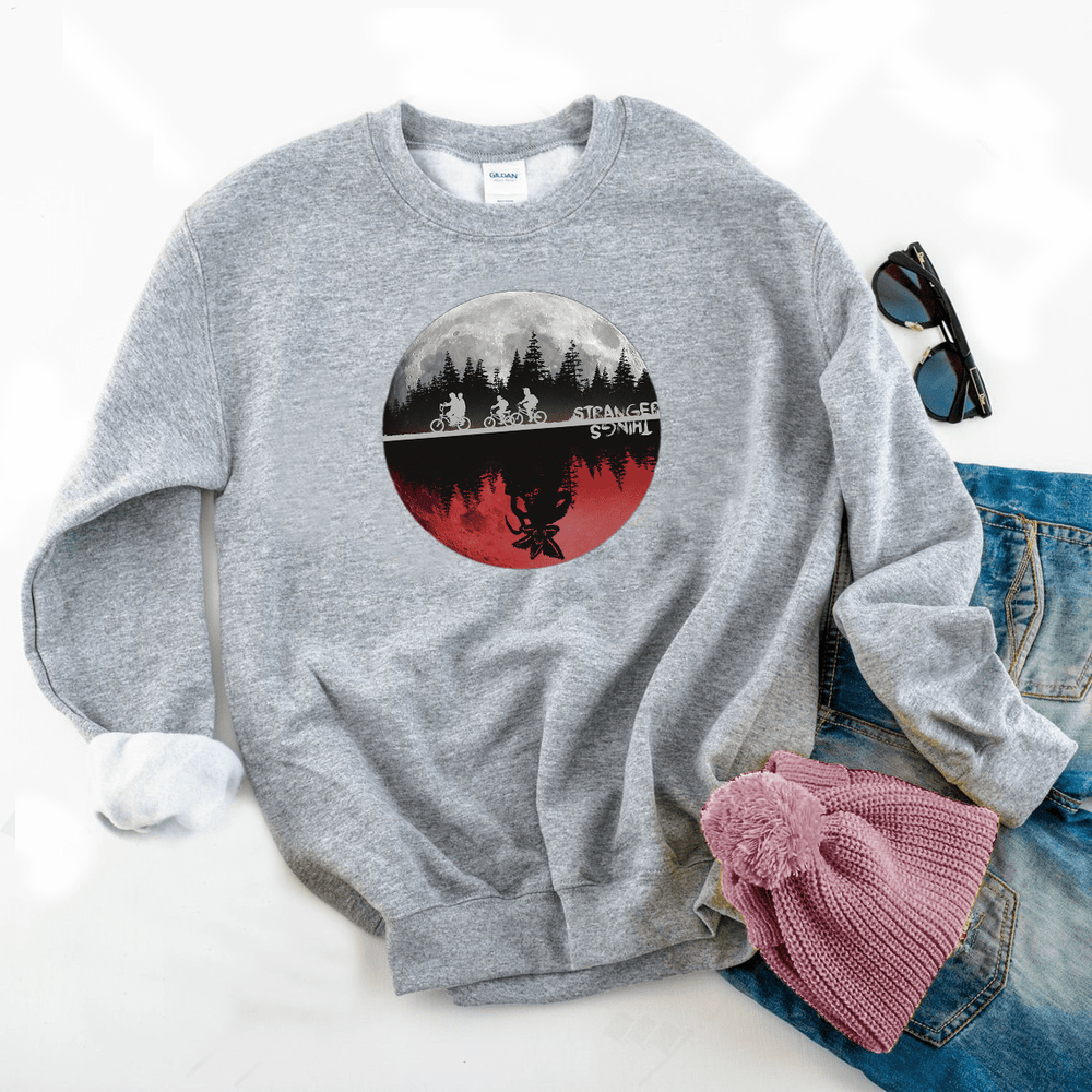 The Upside Down Colorfoul Sweatshirt - Funkyappareltees