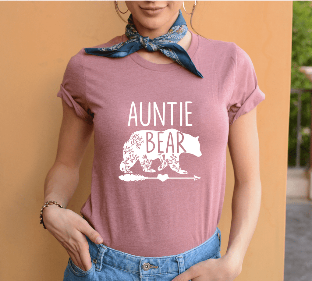 Auntie Bear Shirt - Funkyappareltees