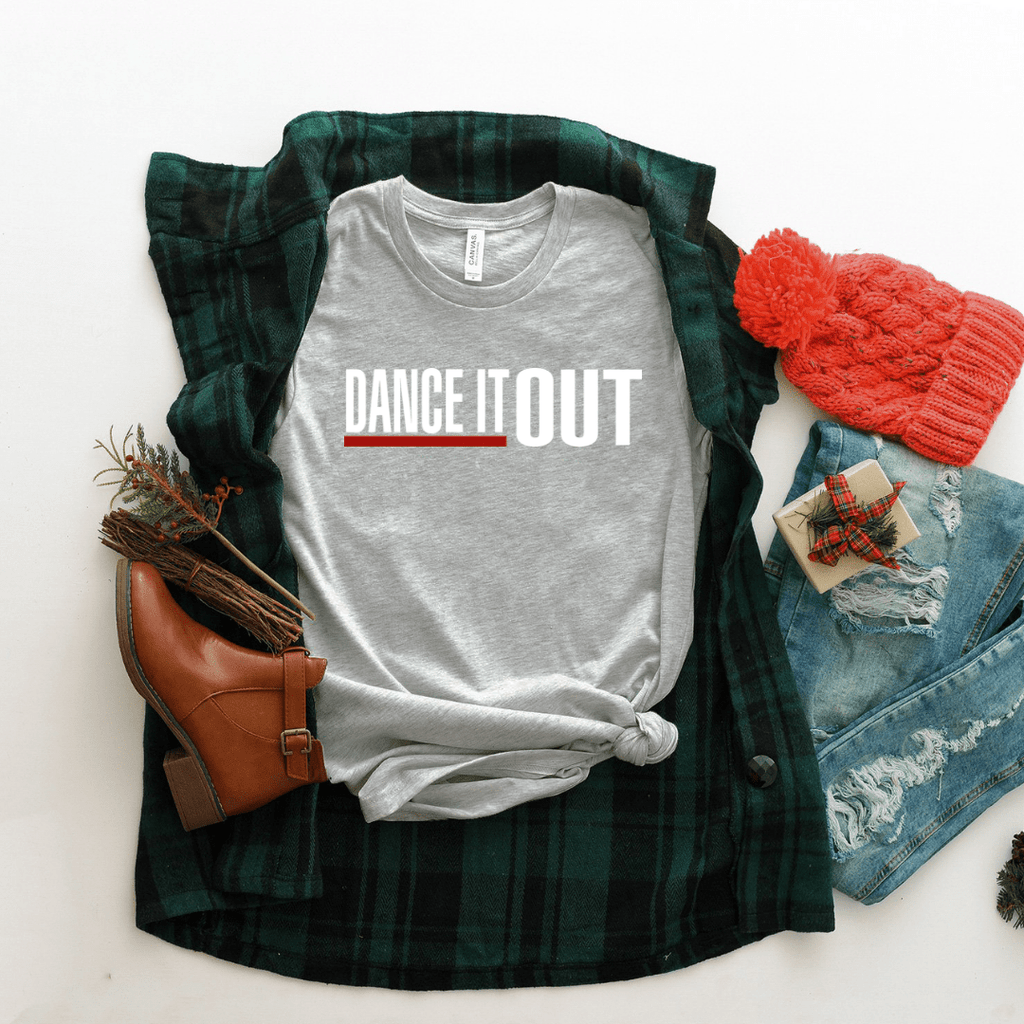 Dance It Out Women Relaxed T Shirt - Funkyappareltees