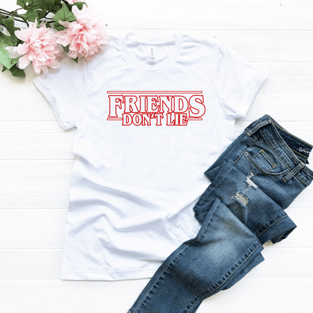 Friends Dont Lie T Shirt - Funkyappareltees