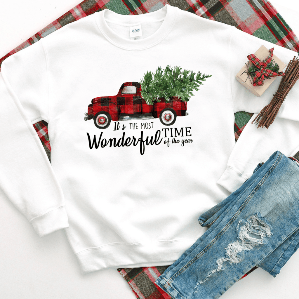 Most Wonderful Time Of The Year Christmas Sweatshirt