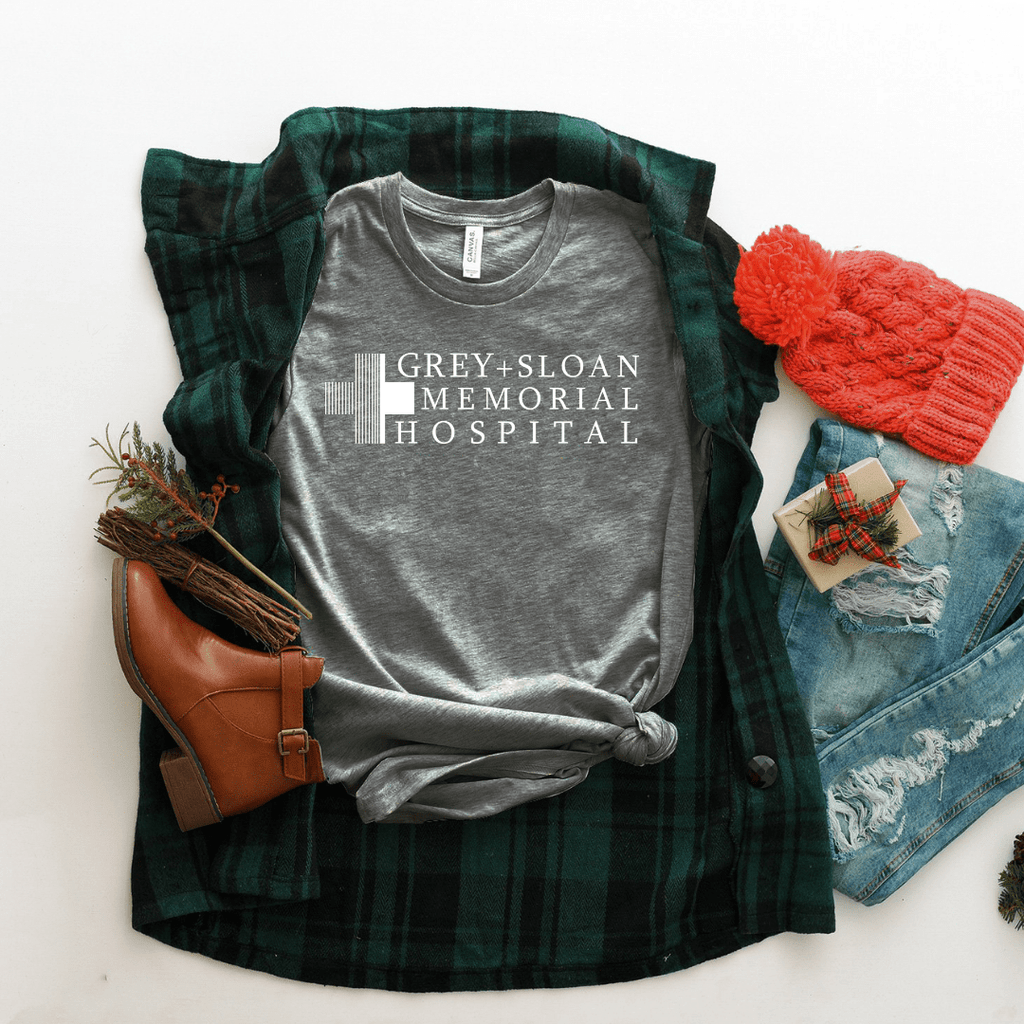 Grey Sloan Memorial Hospital. - Funkyappareltees