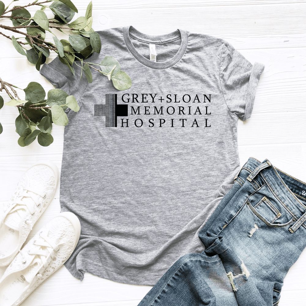 Grey Sloan Memorial Black Design Women Relaxed T Shirt - Funkyappareltees