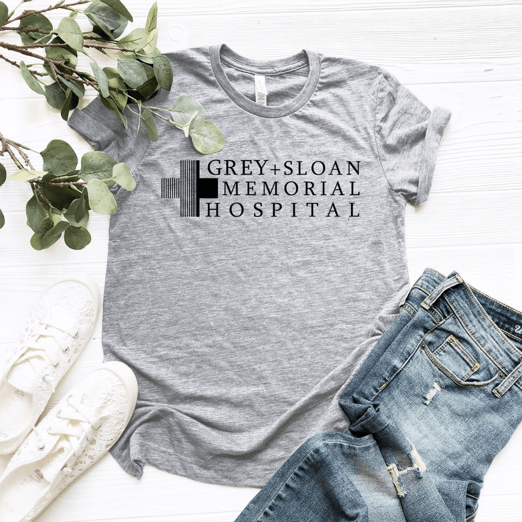 Grey Sloan Memorial Hospital Black Design - Funkyappareltees