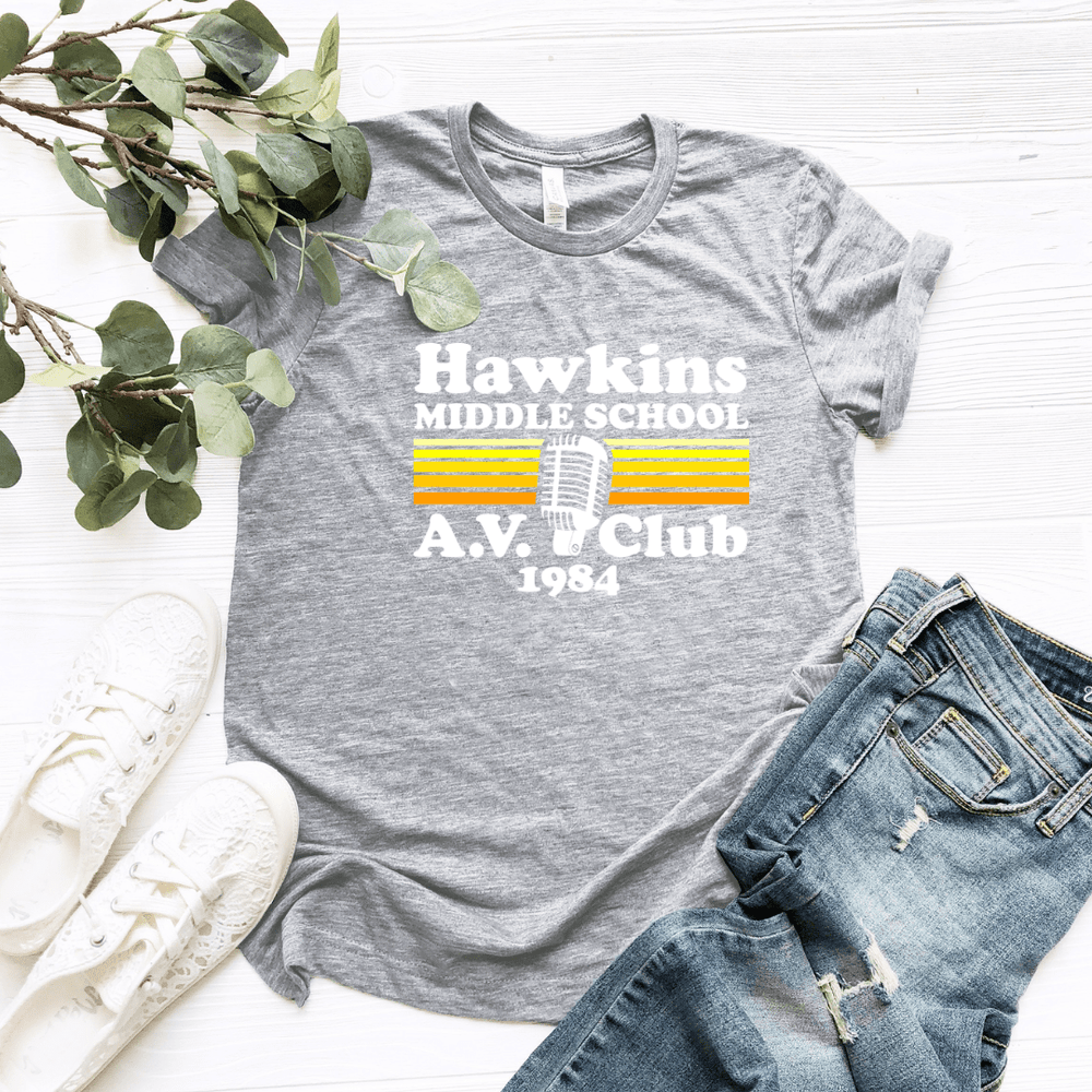 Hawkins AV Club T Shirt - Funkyappareltees